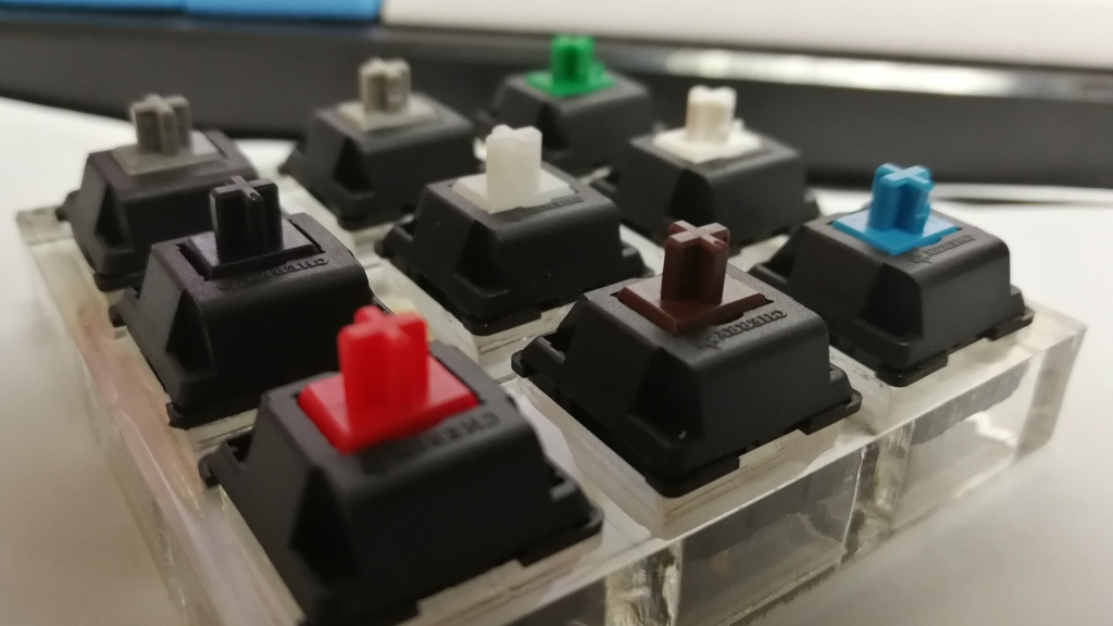 Cherry MX switch tester