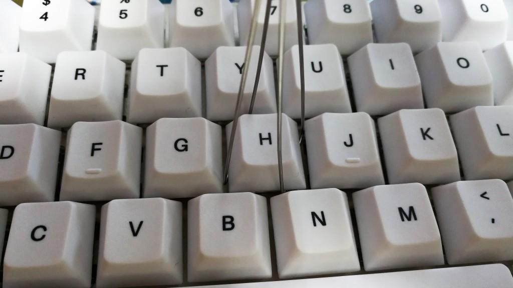 Keycap pulling sample