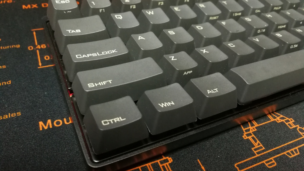Poker 3 PBT close up shot