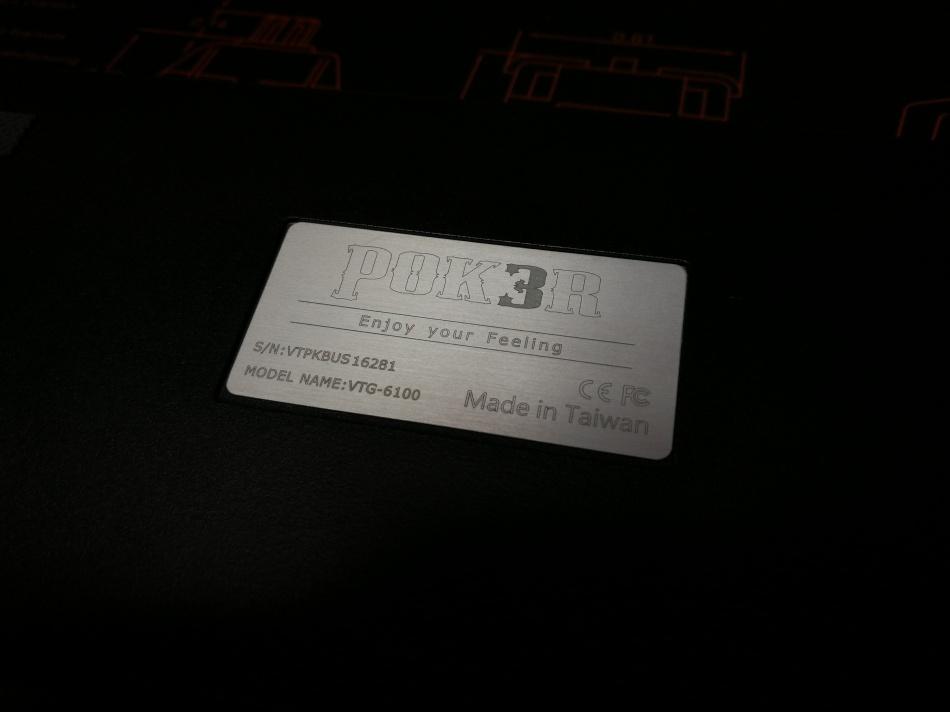 Poker 3 Label close up
