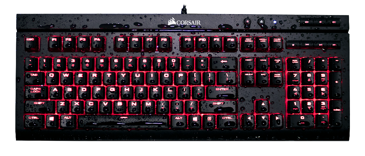 Corsair K68 splash promo