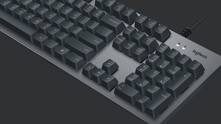 k840-mechanical-keyboard-logitech-promo-shot