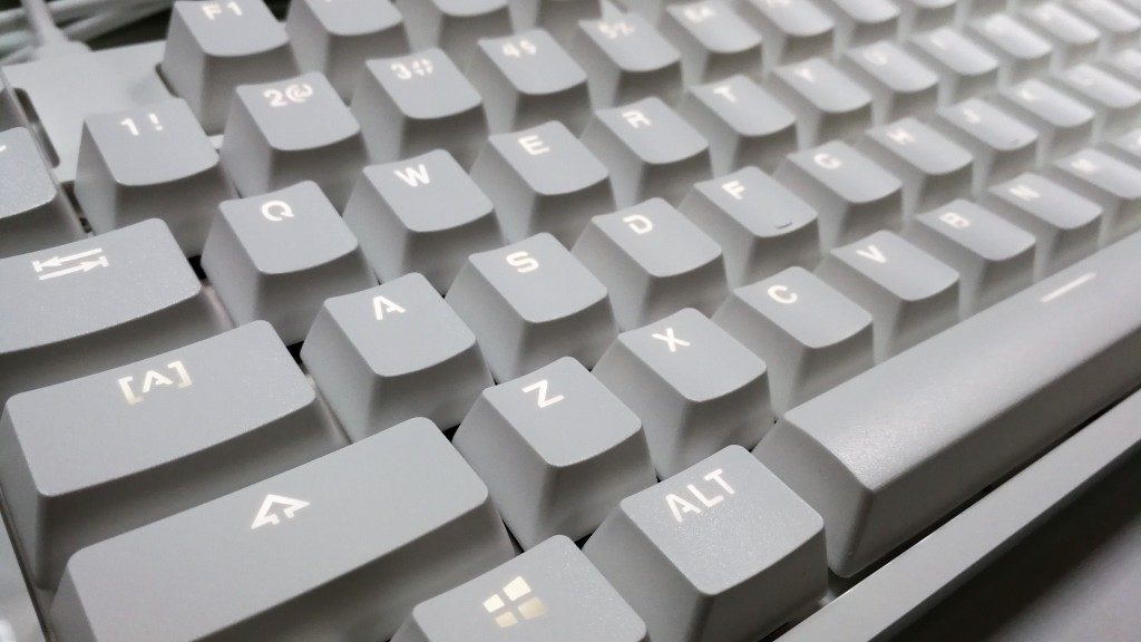 Xiaomi Yuemi Mechanical Keyboard close-up shot