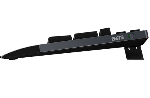 g613-wireless-mechanical-gaming-keyboard side