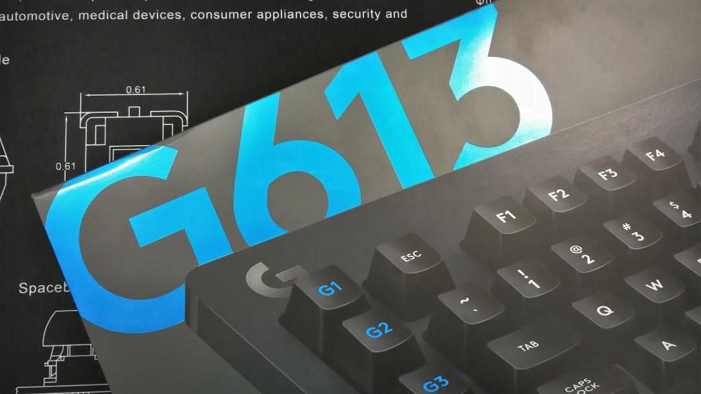 Logitech G613 Logo Box