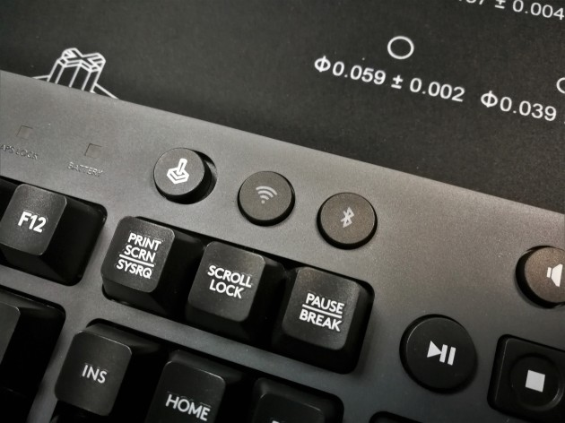 Logitech G613 Connection Button