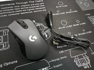 Logitech G603 with extend cord