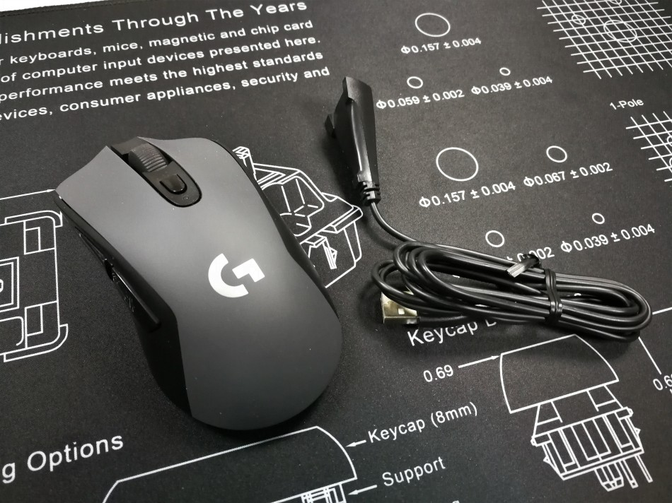 Logitech G603 Mouse with Extend Cable