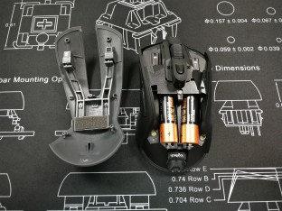 Logitech G603 Cover with Battery