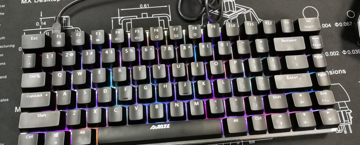 Ajazz AK33 - Top Shot RGB