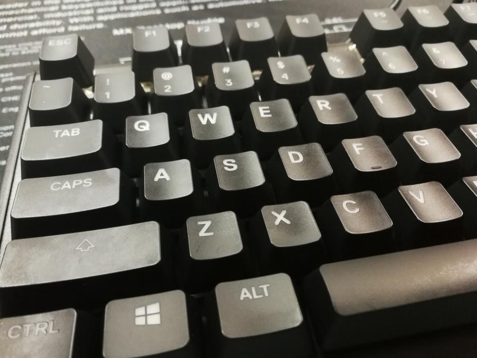 SteelSeries Apex M750 - Keycaps Zoom