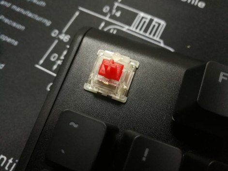 SteelSeries Apex M750 - Red Switch QX2