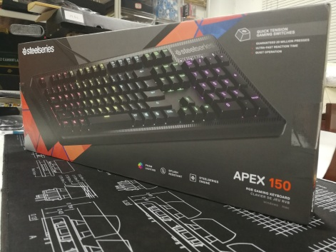 SteelSeries Apex 150 - Box