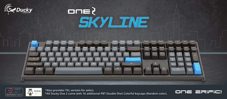 Ducky One 2 - Skyline - 1