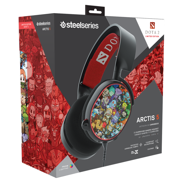ARCTIS 5 DOTA 2 LIMITED EDITION 3
