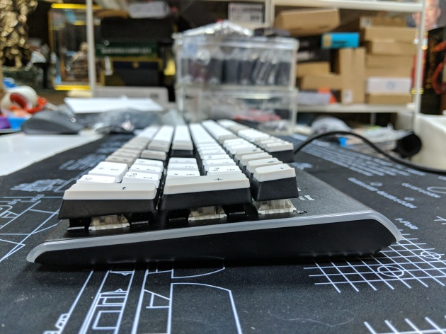 Kailh Limited Box Switch Keyboard - Side