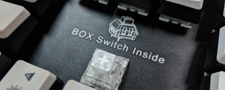 Kailh Limited Box Switch Keyboard - Switch + Logo