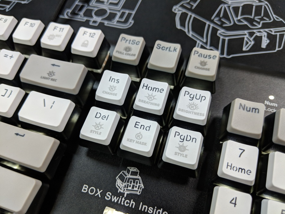 Kailh Limited Box Switch Keyboard - Light Adjust