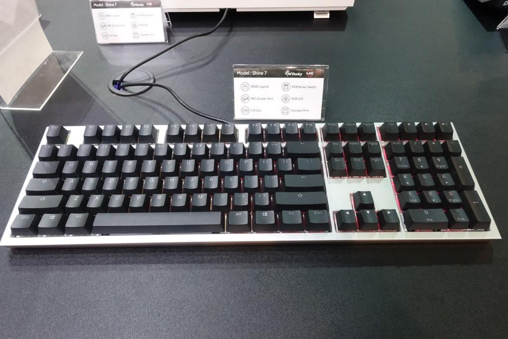 Ducky Shine 7 Computex